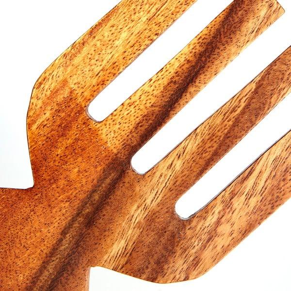 Měchačky na salát Premier Housewares Acacia, 2 ks