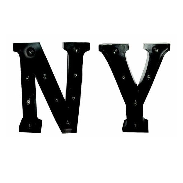 Svítící nápis NY