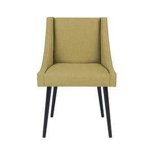 Žlutá židle Micadoni Home Massimo
