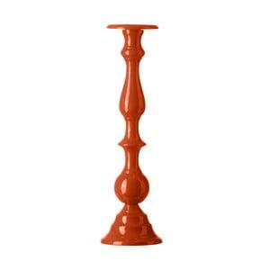 Stojan na svíčku Chunky Orange, 42 cm