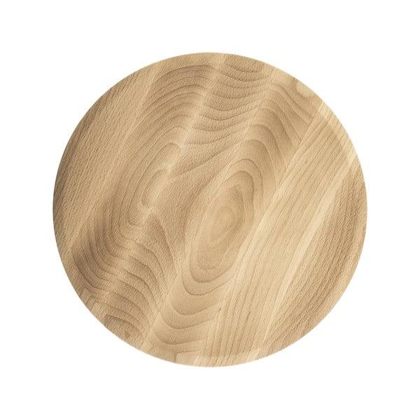 Dřevěný podnos Sola Flow, 30cm