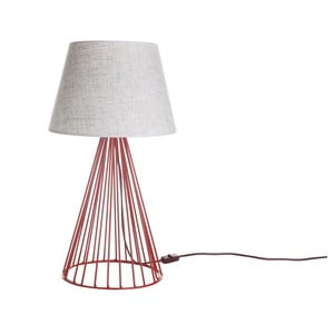 Stolní lampa Wiry White/Red
