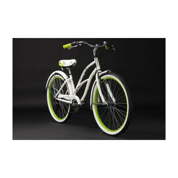 "Kolo Beachcruiser Bellefleur Bike White, 28"""