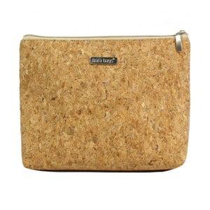 Hořčicově hnědá kosmetická taštička Dara bags Baggie Big No.565