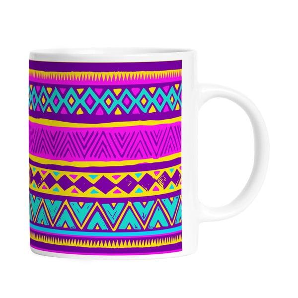 Keramický hrnek Aztec Style, 330 ml