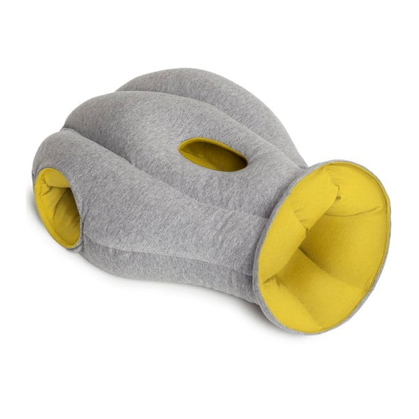 Pštrosí polštář Mellow Yellow