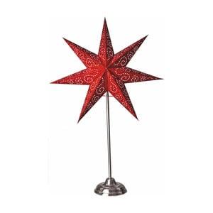 Červená svítící hvězda Best Season Paperstar