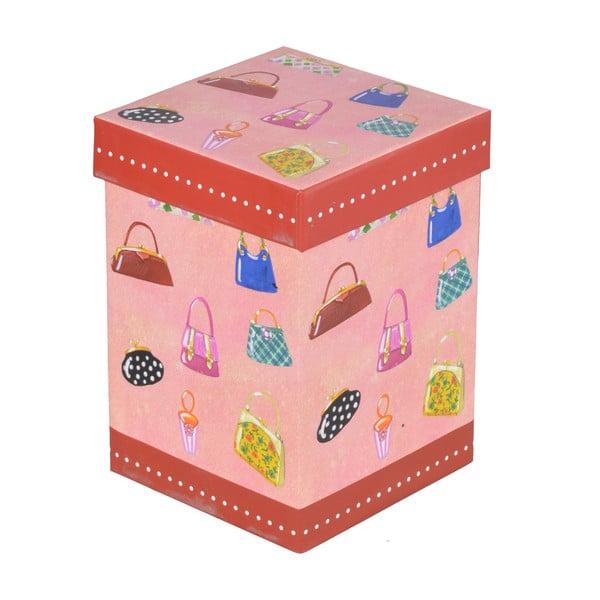 Hrnek s víčkem Kabelky, v dárkové krabičce