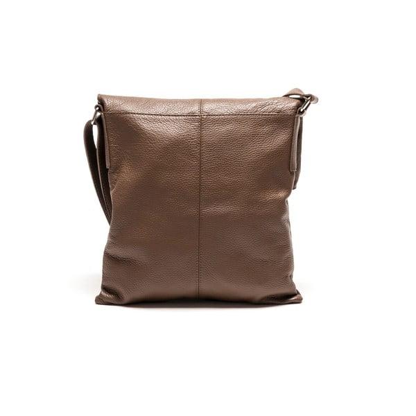 Kožená kabelka Luisa Vanini 1031 Fango