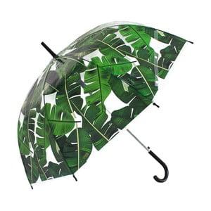 Umbrelă Blooms of London Palm Leaf Scarse