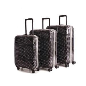 Set 3 cestovních kufrů Lucchino Negro