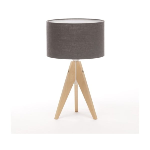 Stolní lampa Artist Solid Birch/Anthrazite