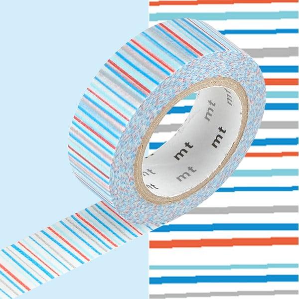 Bandă decorativă Washi MT Masking Tape Eliane, rolă 10 m