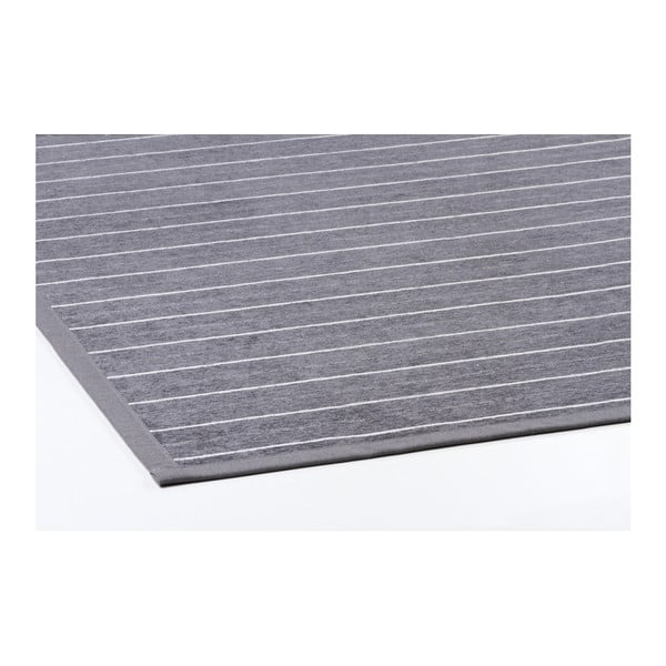 Šedý vzorovaný oboustranný koberec Narma Vao, 140x200cm