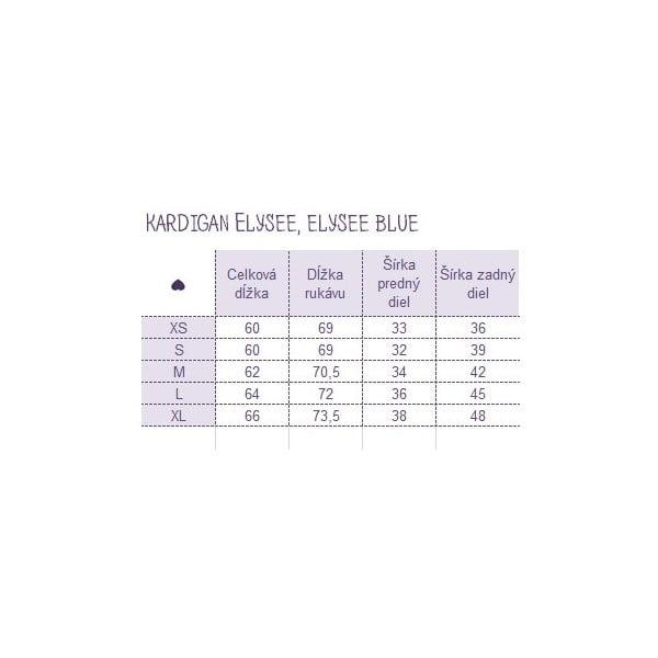 Kardigan Elysee Blue, velikost L