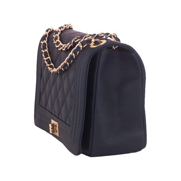Tmavě modrá kabelka z pravé kůže Andrea Cardone Debora
