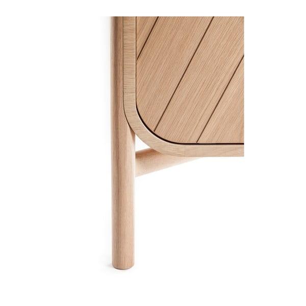 TV komoda z dubového dřeva HARTÔ Marius, šířka185cm