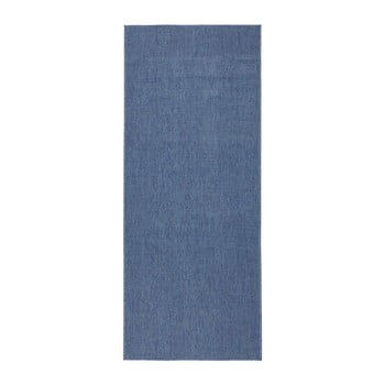 Covor reversibil Bougari Miami, 80 x 250 cm, albastru de la Bougari