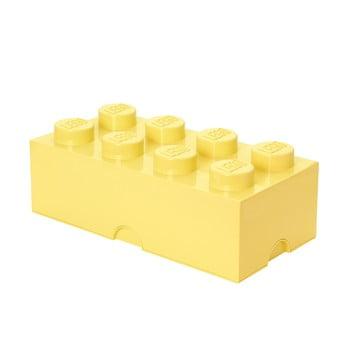 Cutie depozitare LEGO®, galben deschis de la LEGO®