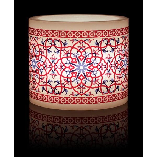 Kruhový svícen na čajovou svíčku Ceramic Tile