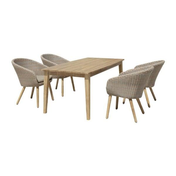 Zahradní stůl z akáciového dřeva ADDU Visalia