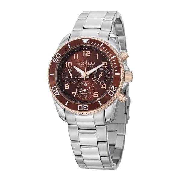 Pánské hodinky Yacht Go Brown