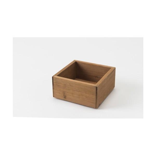 Úložný box z jedlového dřeva Compactor Vintage Box, šířka14cm
