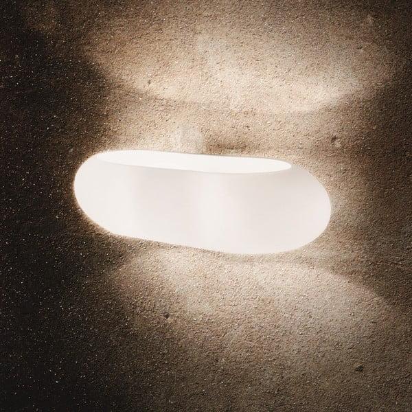 Bílé nástěnné svítidlo Evergreen Lights Blick