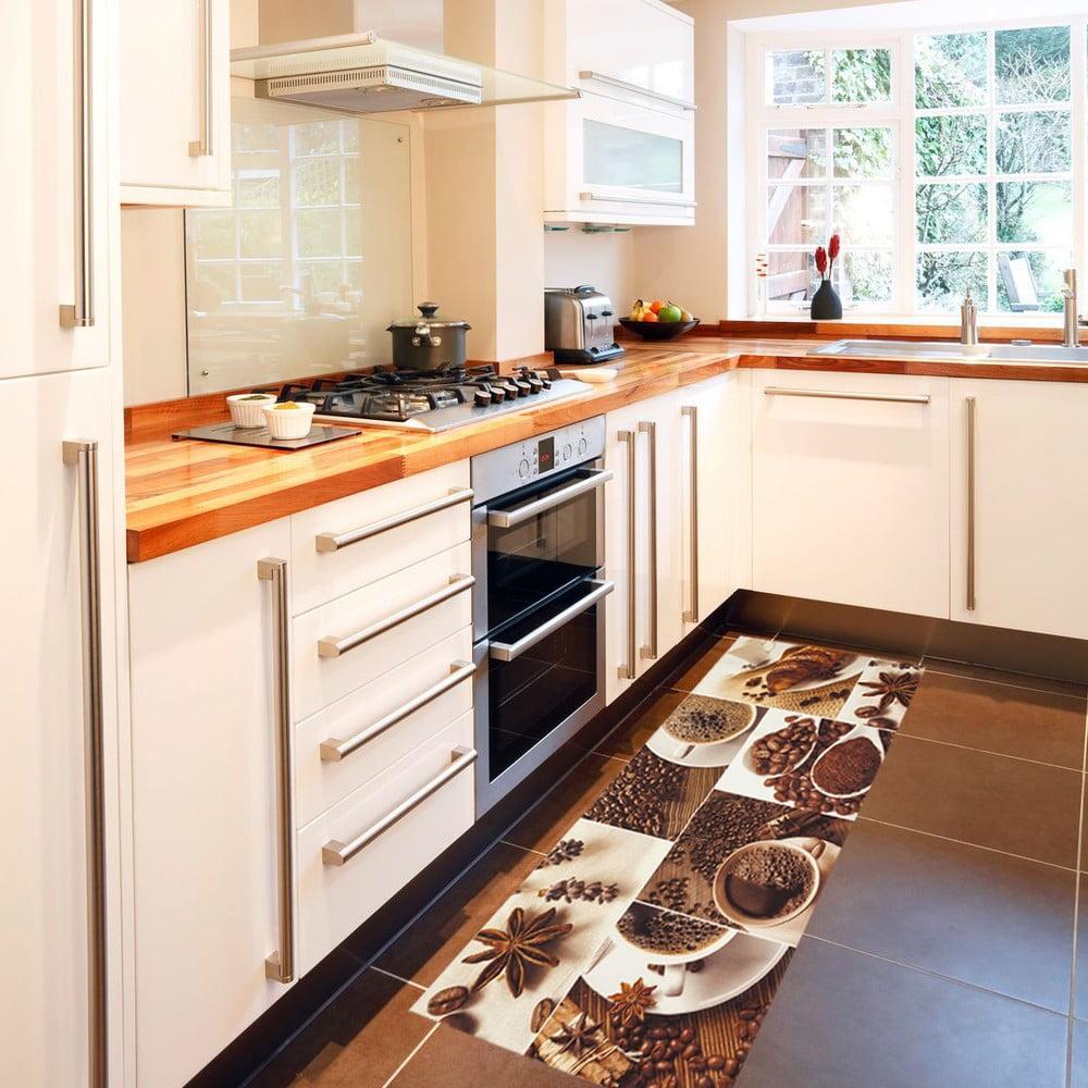 Vysoce odolný kuchyňský koberec Webtappeti Break, 60 x 150 cm