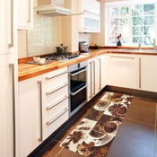 Covor pentru bucătărie foarte rezistent Webtapetti Break, 60x150cm