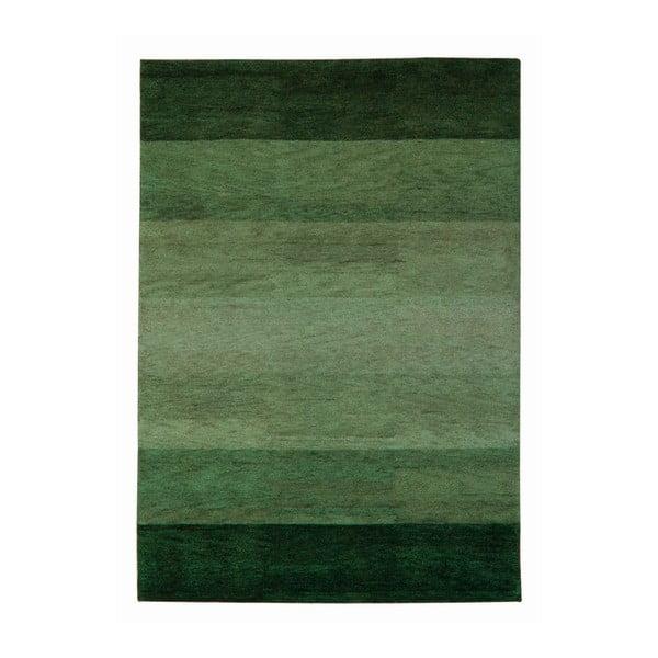 Koberec Baku Stripe Green, 120x180 cm
