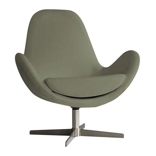 Atene barnás szürke fotel - Design Twist