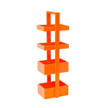 Etajeră din lemn Wireworks Caddy 4 Orange imagine