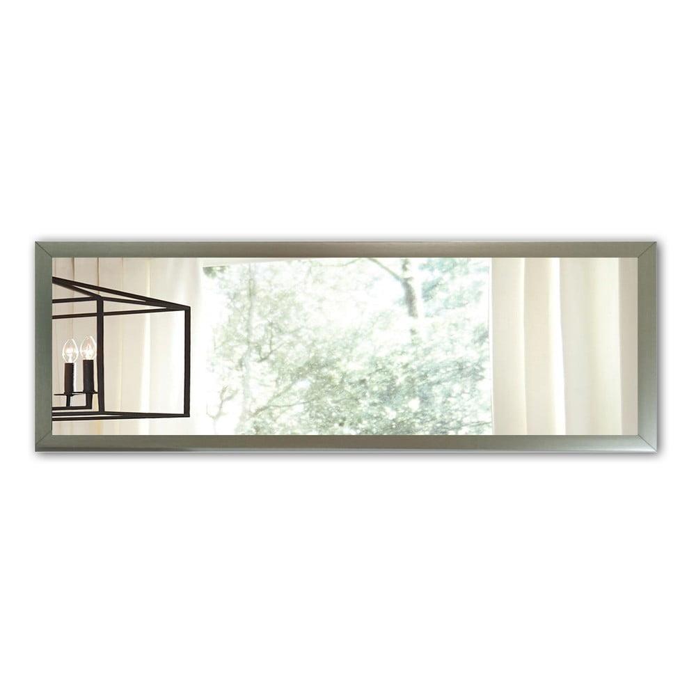 Nástěnné zrcadlo s rámem ve stříbrné barvě Oyo Concept, 105 x 40 cm