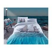 Lenjerie de pat cu cearșaf Eline, 200 x 220 cm
