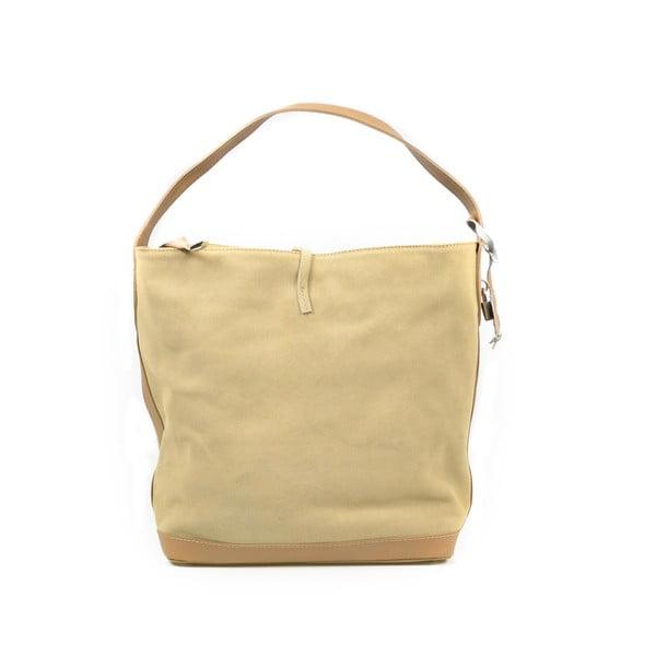 Kožená kabelka Stefie, taupe