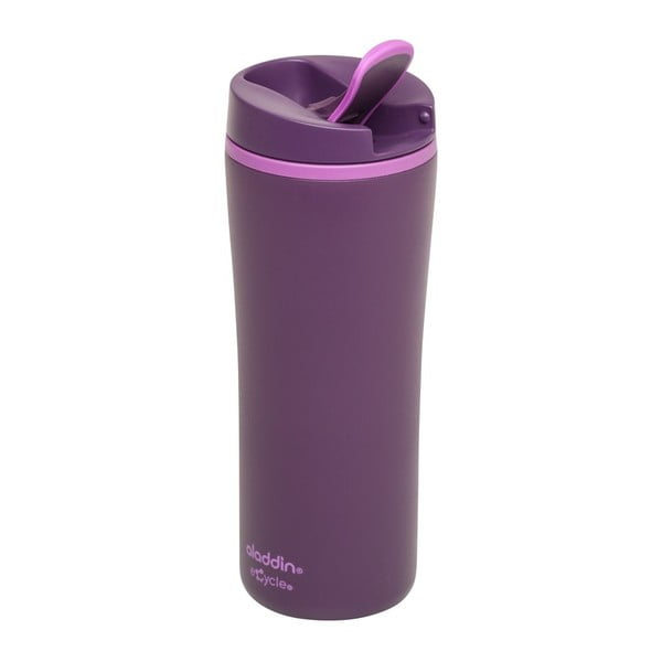 Fialový termohrnek Aladdin eCycle Flip-Seal™,350ml