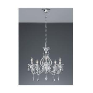 Stropní lustr Chandelier, průhledný