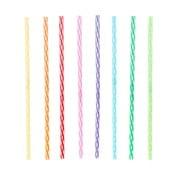 Set 24 paie refolosibile Kikkerland Rainbow