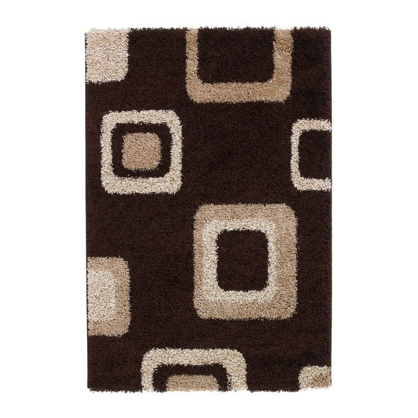 Covor Think Rugs Majesty, 60 x 120 cm, maro