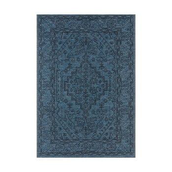 Covor potrivit pentru exterior Bougari Tyros, 160 x 230 cm, albastru închis imagine