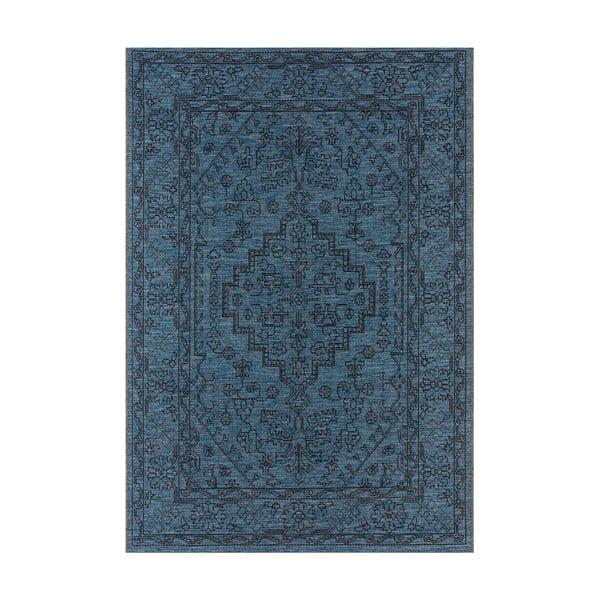 Covor potrivit pentru exterior Bougari Tyros, 140 x 200 cm, albastru închis