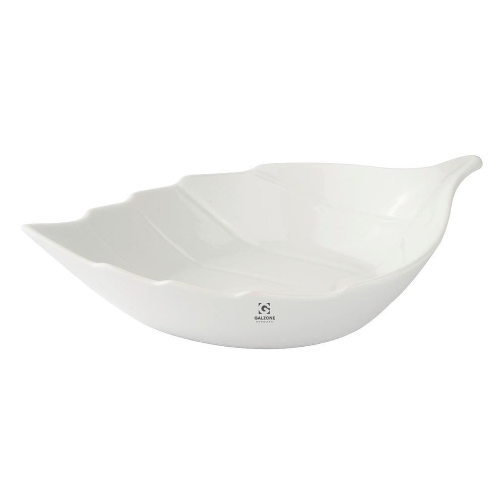 Porcelánová servírovací miska KJ Collection Leaf, 300 ml