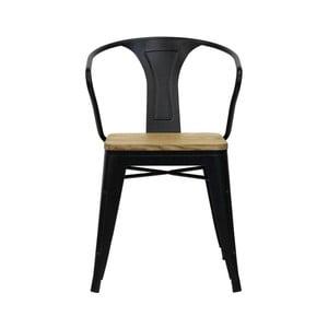 Sada 2 jídelních židlí z borovicového dřeva Red Cartel Split