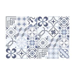 Sada 24 samolepek Ambiance Blue Tiles