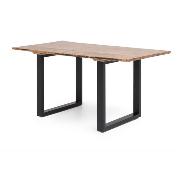 Jídelní stůl s deskou z akáciového dřeva WOOX LIVING Industrial, 160x60cm