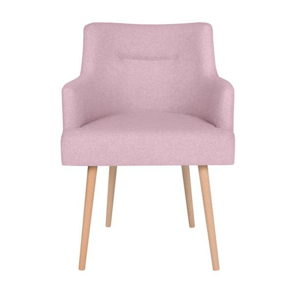 Růžové křeslo BSL Concept Mia