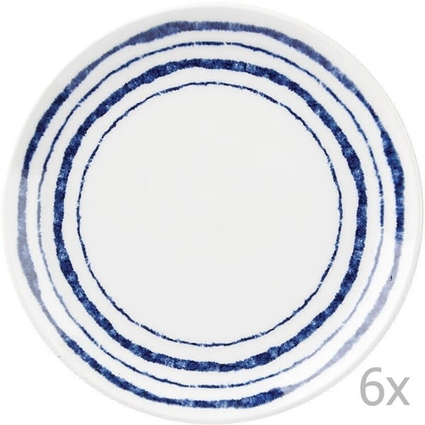 Sada 6 talířů Churchill Inkie Stripes, 20 cm