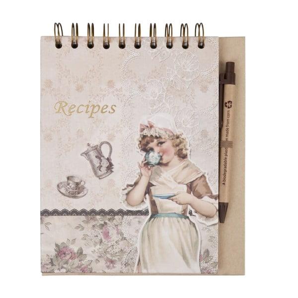 Notes na recepty Clayre Retro
