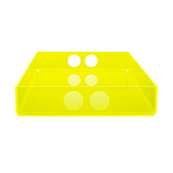 Podnos Tray Yellow, 22x31 cm